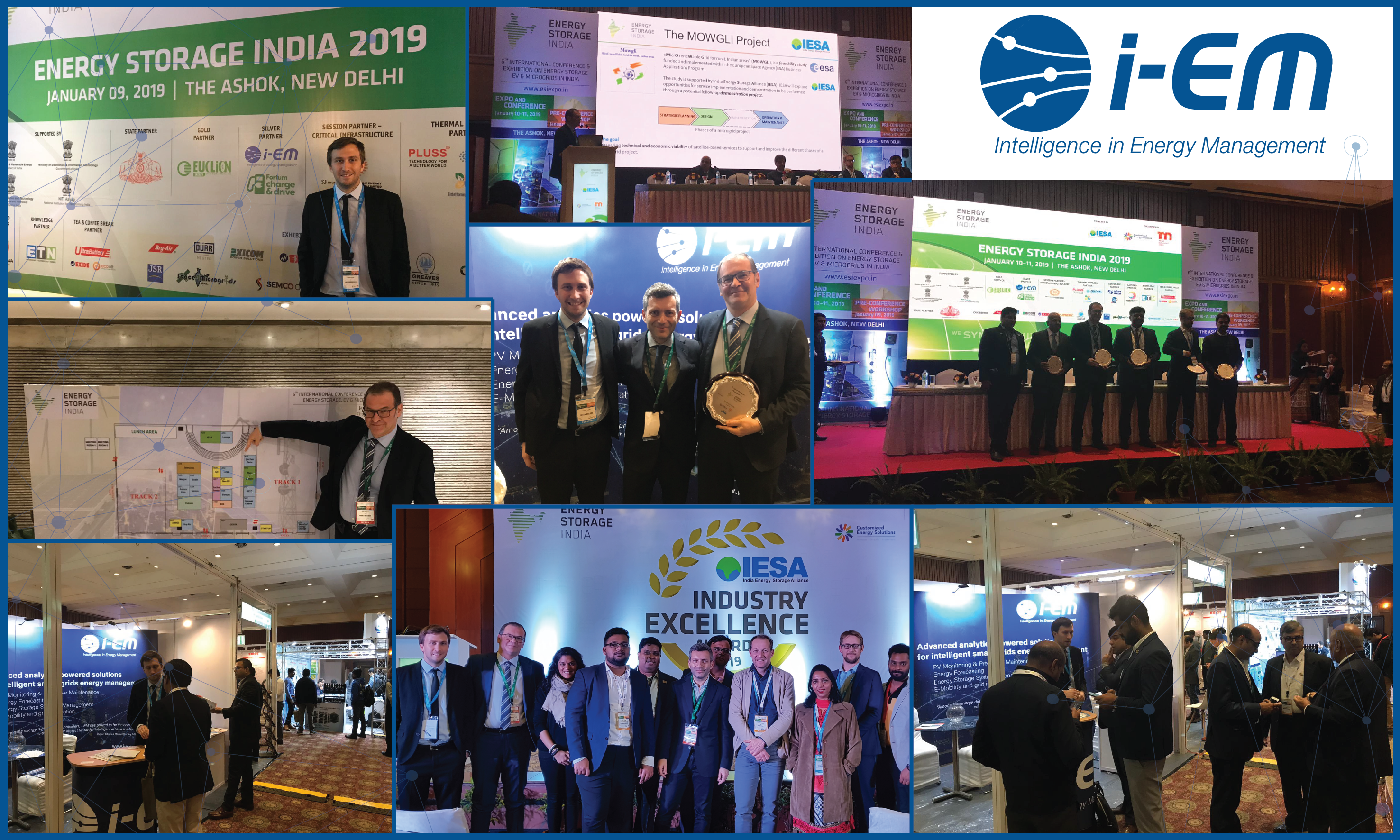 Successful business travel in India for i-EM at Energy Storage India